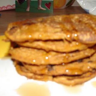 Pumpkin Raisin Pancakes
