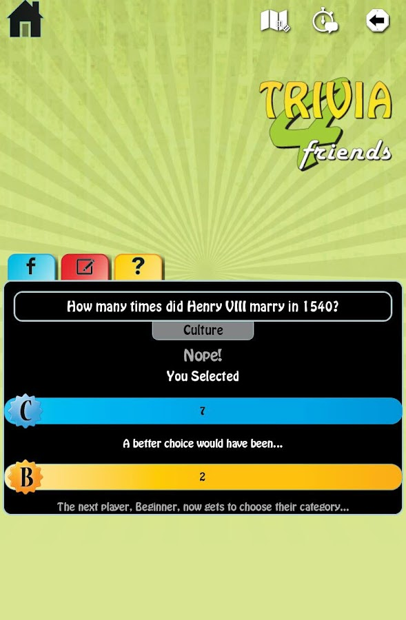 Trivia 4 Friends- screenshot