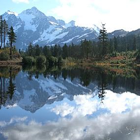 by Dana Styber - Landscapes Mountains & Hills ( artist point, mount shuksan, wa, scenic, landscape )