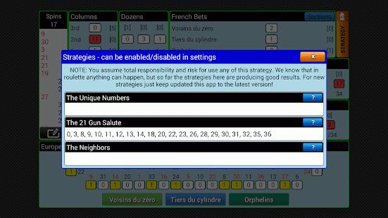 Smart Roulette Tracker- screenshot thumbnail