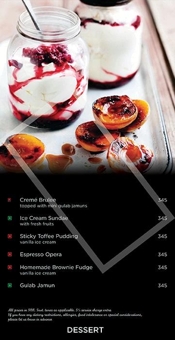 Gallery cafe, Hyatt Place menu 8