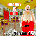 Scary Rich Granny Horror House Game 2019 icon