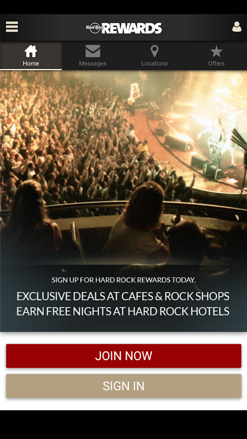 Hard Rock Rewards Android Apps On Google Play - Map of hard rock cafes in the us