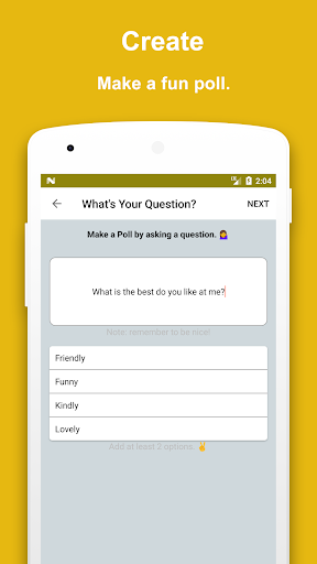 Poll Now - Polls for Snapchat 1.2 screenshots 1