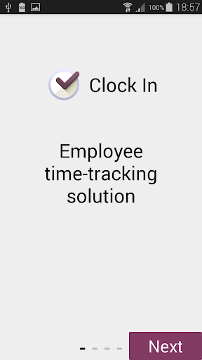 ClockIn - Employee tracking