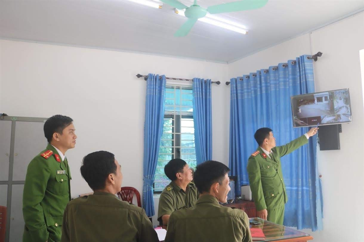 Từ khi điều động, bố trí Công an chính quy về đảm nhiệm chức danh Công an     xã tại Quỳnh Lập, tình hình ANTT tại địa phương có nhiều chuyển biến tích cực