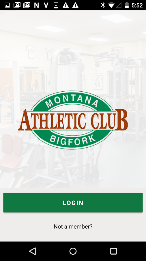 Montana Athletic Club- screenshot