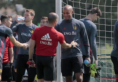 Vincent Kompany n'est pas allé loin pour choisir le coach de son équipe lors de son jubilé