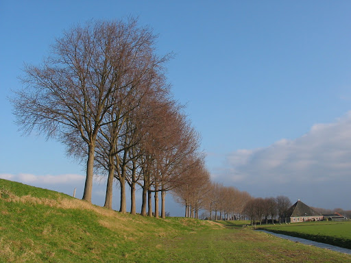 3065945894_bcbf259bce_o-1.jpg - Beemster Polder, near Amsterdam, is the first polder (low-lying area) reclaimed from a lake, and its fields, roads, canals and villages are preserved as an example of classic and Renaissance planning.