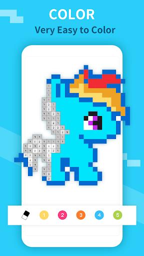 PixelDot - Color by Number Sandbox Pixel Art 1.2.9.0 screenshots 4