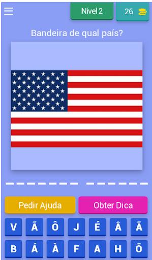 Que Pau00eds u00e9 Esse? Jogo das Bandeiras e Brasu00f5es android2mod screenshots 3