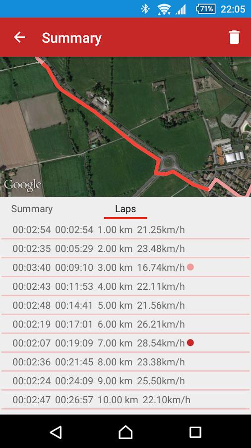 Sickrhino Sports Tracker- screenshot