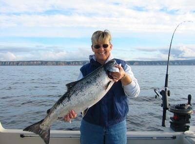 Back Bay Blackened Wild Alaskan Salmon Pasta Recipe