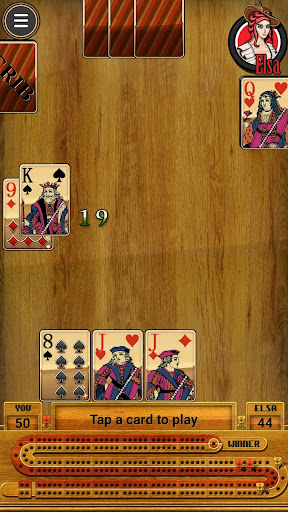 Cribbage Club (free cribbage app and board)  screenshots 2