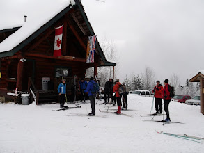 Photo: First Ski of the season