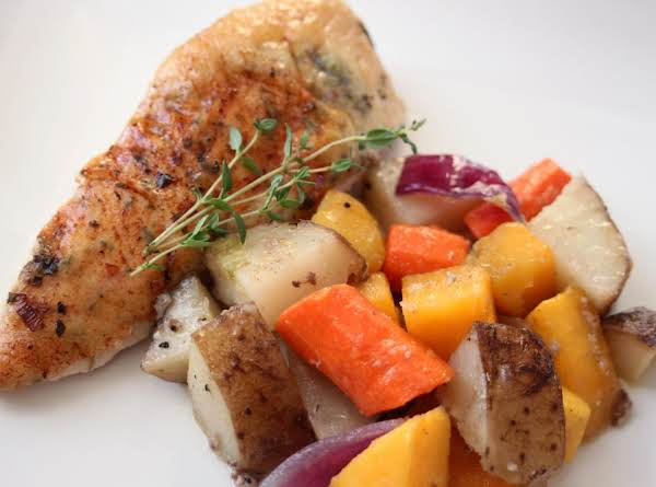 Herb Roasted Chicken & Vegetables Recipe
