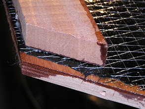 Photo: Reinforcing MCW with Carbon Sheets