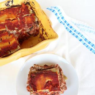 Roasted Vegetable Lasagna {Dairy Free, Paleo-Friendly}.
