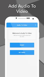Add Audio To Video screenshot