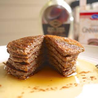Cinnamon Chia-Flax Protein Pancakes (paleo, GF).