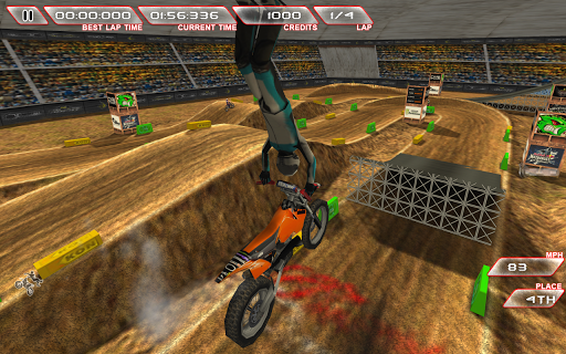 Freestyle Dirt Bike Screenshot