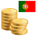 Portugal coins old and new icon