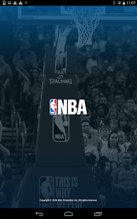 NBA app- screenshot thumbnail