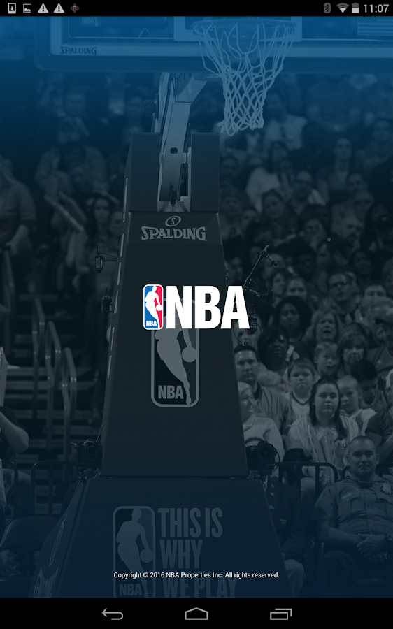 NBA app- screenshot