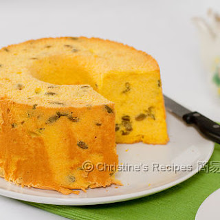 Pumpkin Chiffon Cake.