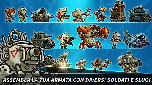 Metal Slug Infinity: Idle Tap Game & Retro 2D RPG  άμαξα προς μίσθωση screenshots 2