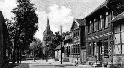 Photo: Die Hauptstraße in Richtung Süpplingenburg, Datum unbekannt