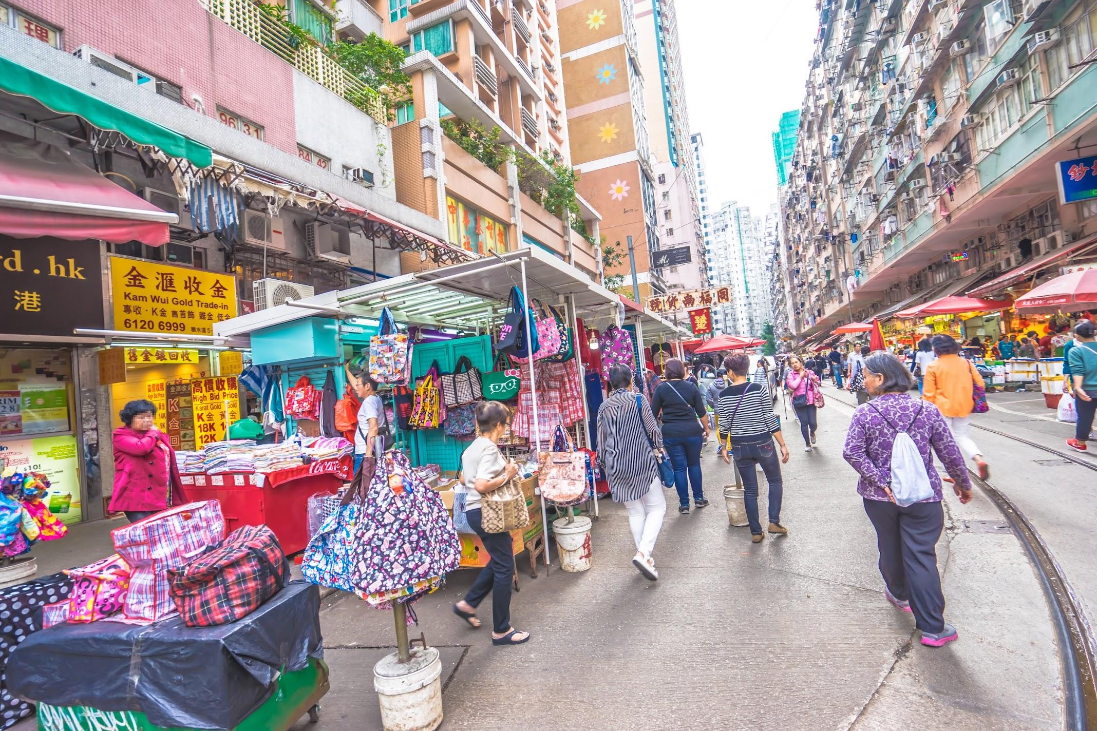 香港 春秧街マーケット2