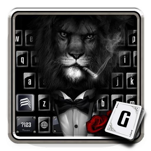Lion in Costume Keyboard Theme