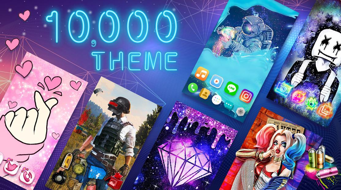 Color Phone Launcher - Live Themes & HD Wallpapers Android App Screenshot