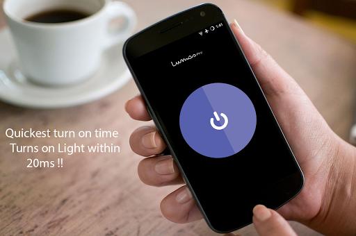 lumos to turn on flashlight