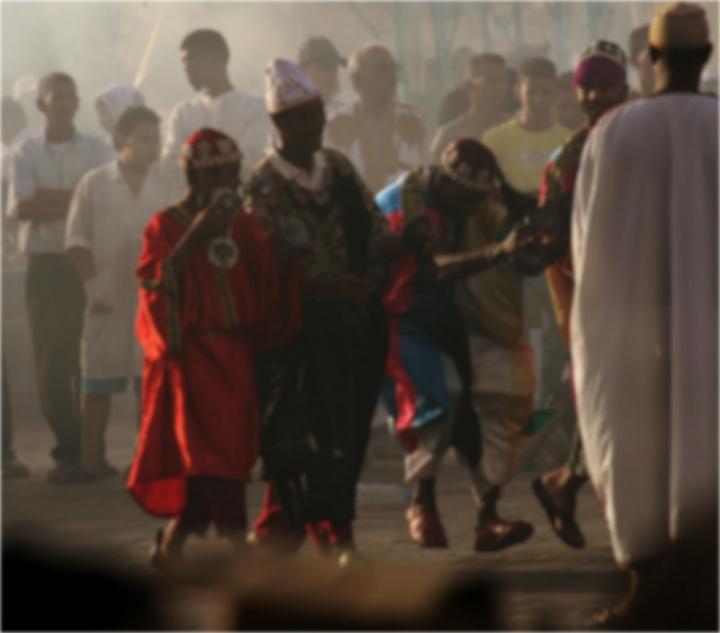 Danzatori tra i fumi... di evaluna