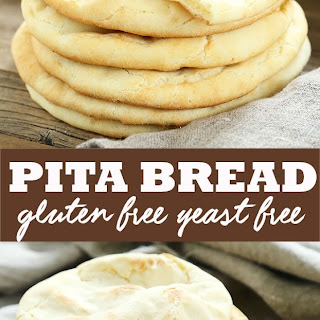 Gluten Free Pita Bread.