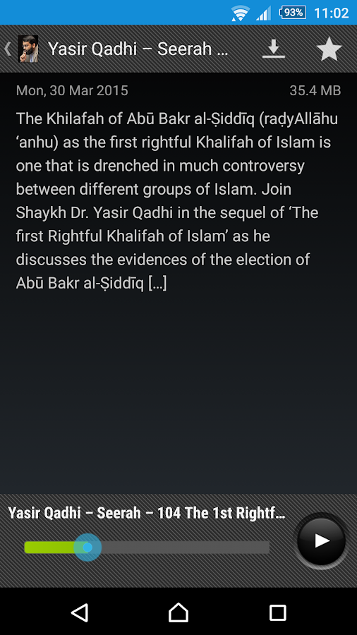 Yasir Qadhi - screenshot
