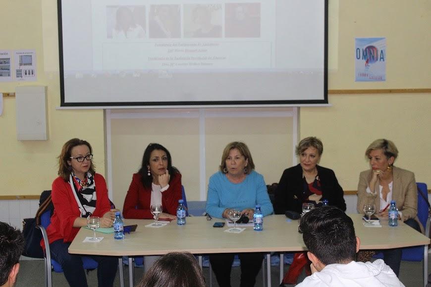 Intervención de la directora del IES Aguadulce, Amparo García Escarabajal
