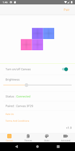 Firefly for Canvas Nanoleaf Screenshot