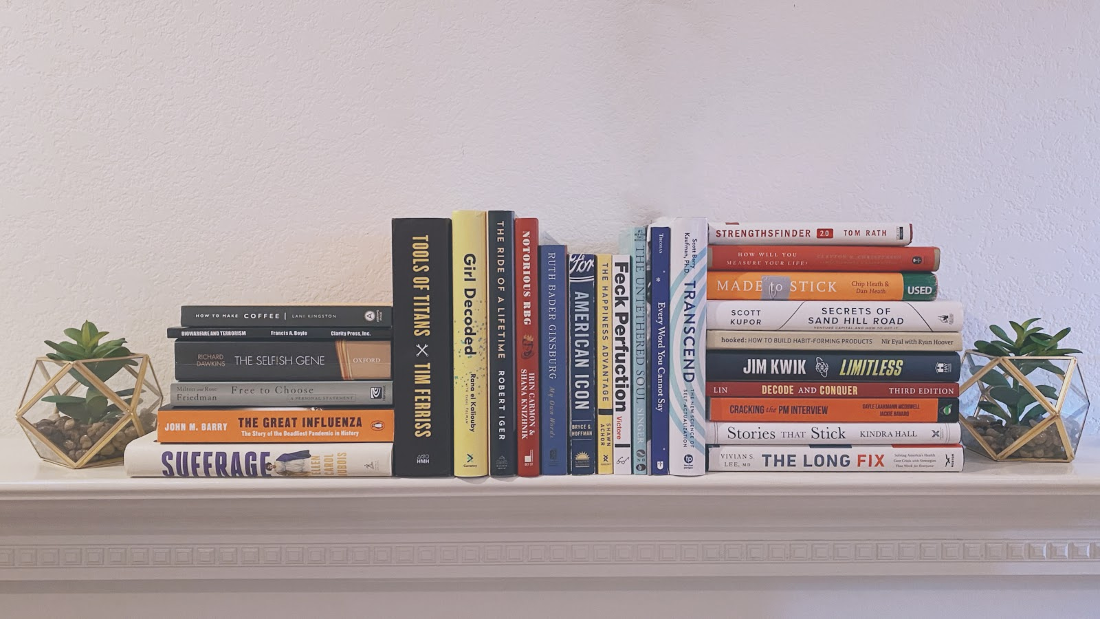 , Top 5 Books of The 40 That I've Read in 2020