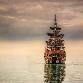 go west by Cornelius D - Transportation Boats