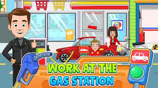 My Town: Car Garage. Wash & Fix kids Car Game  screenshots 3