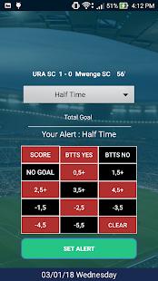 Goal Alert - náhled