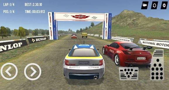 Super Car Rally 3D- screenshot thumbnail