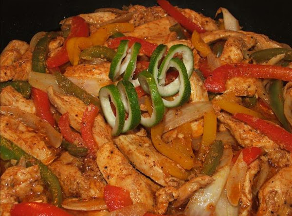 Chicken Fajita Fiesta! (enough For A Small Party) Recipe