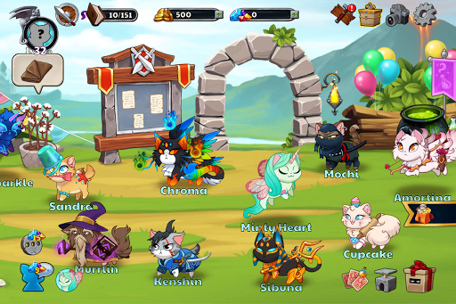 Castle Cats:  Idle Hero RPG apkpoly screenshots 12