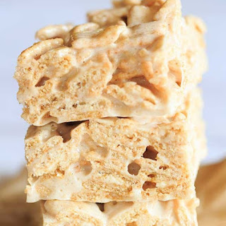 Cinnamon Toast Crunch Marshmallow Treats.