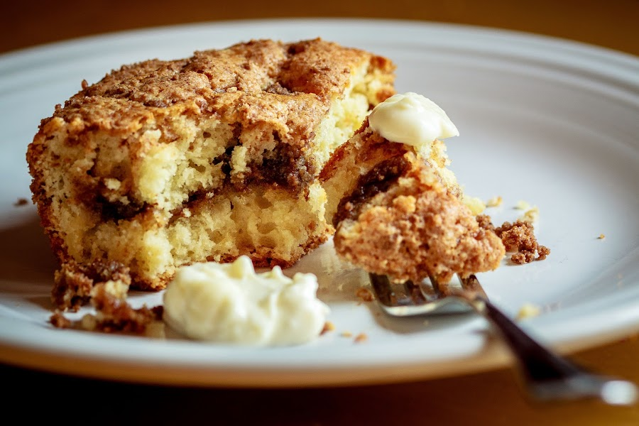Cinnamon Coffee Cake by Kevin Stacey - Food & Drink Cooking & Baking