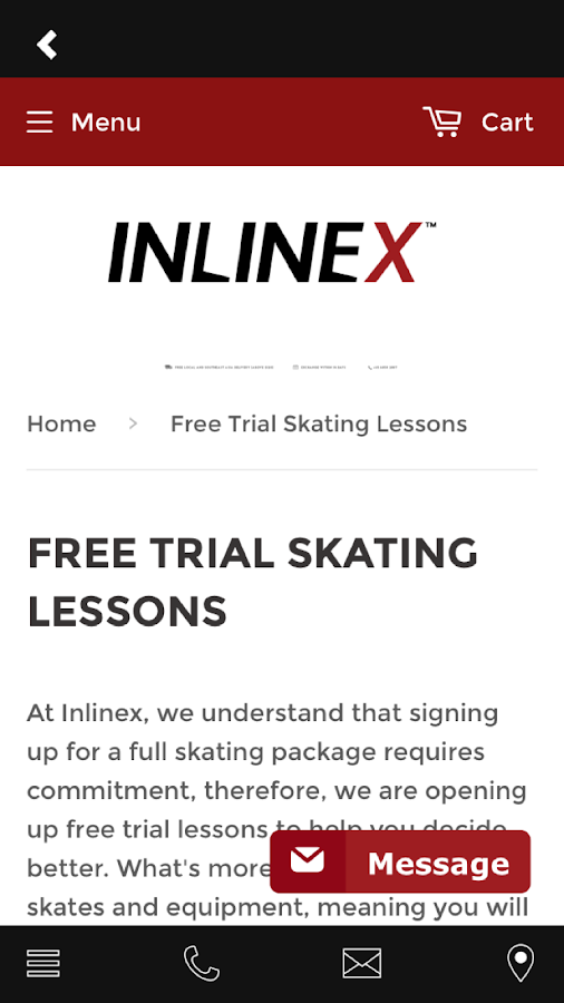 Inlinex Shop- screenshot